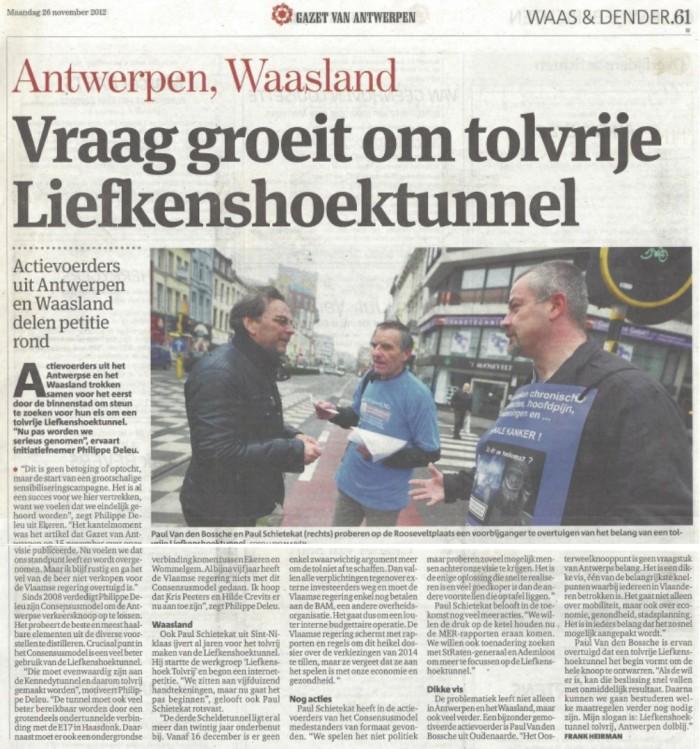 GvA artikel_actie LHT-tolvrij_26-11-2012